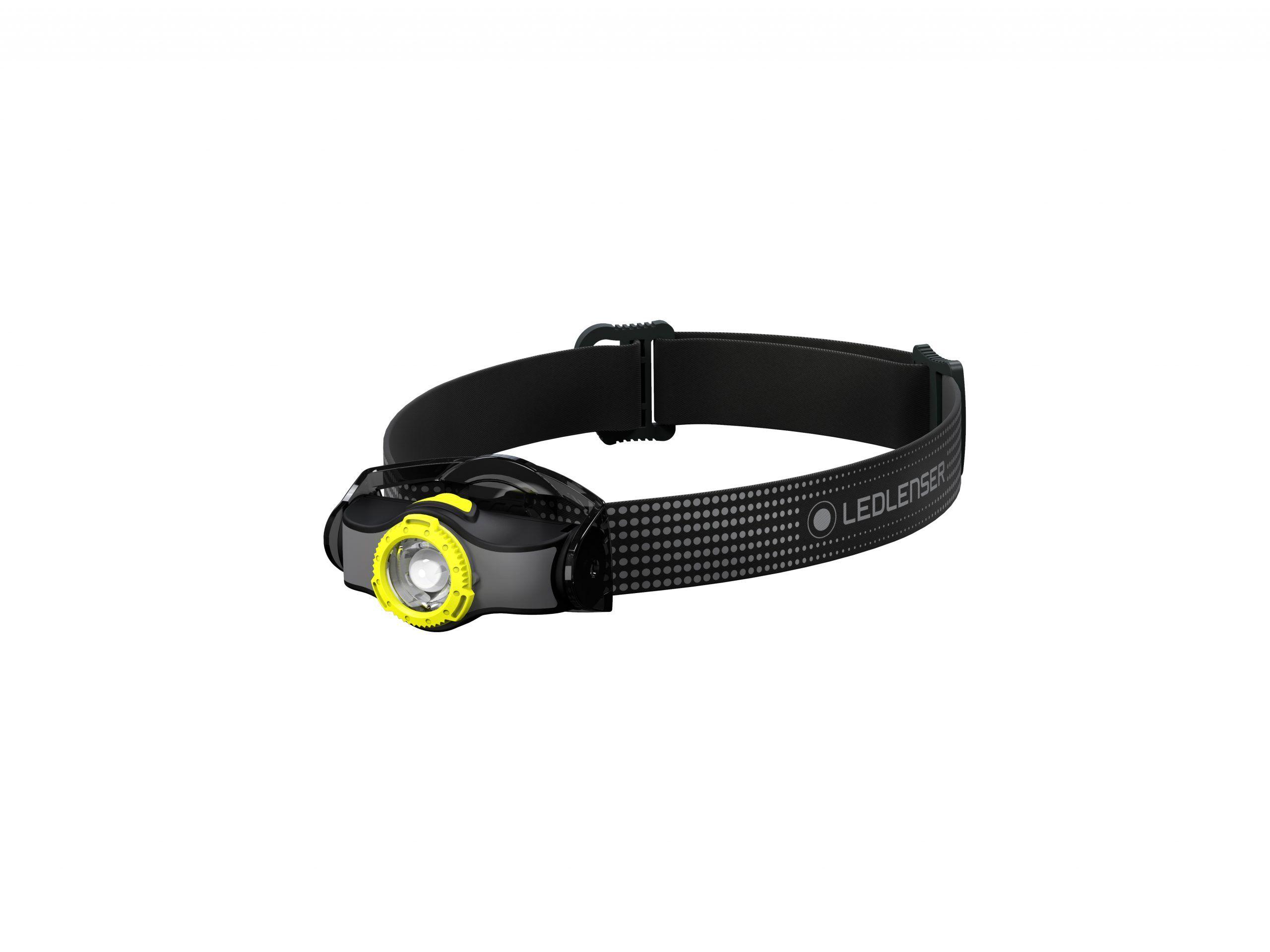 Ledlenser MH3 Black/Yellow-0